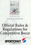 Sportcraft Bocce Ball Rules - pack of 10 books
