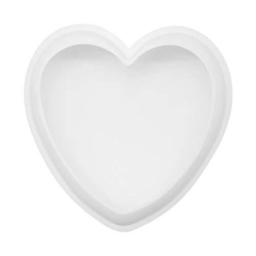 Molde de silicona 3D con forma de corazón Caramelos, Hornear, Tarta, Galletas, Jabón Premium Antiadherente Moldes para Tartas, Moldes de Silicona parapara repostería, chocolate, gelatina, mousse