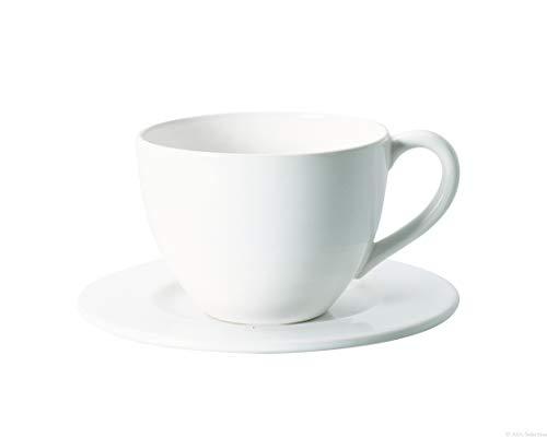 ASA Grande Tasse mit Untertasse weiß 0,3 l
