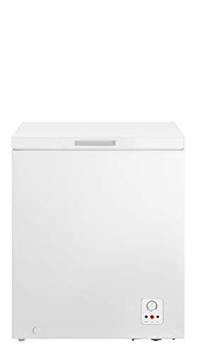 HISENSE FC184D4AW1 Gefrierschrank mit Brunnen, 142 l, Energieeffizienzklasse A+, Maße (B x T x H): 62,5 x 55,9 x 85,4 cm, weiß