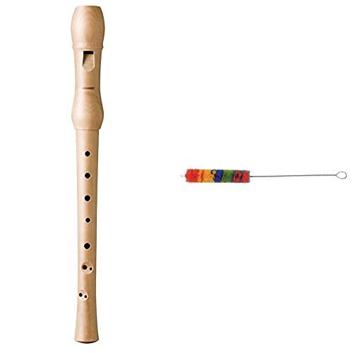 Hohner B9560 Flauta Dulce (En Do, Soprano, De Madera De Peral) + Gewa 755100 Escobilla Flauta Dulce Soprano