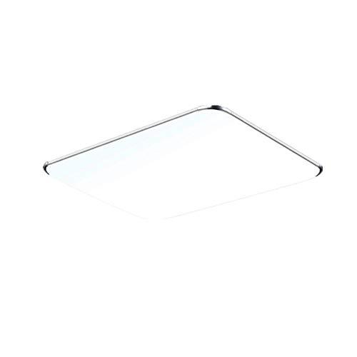 Froadp 128W LED Deckenleuchte mit Fernbedienung Dimmbar - Ultraslim Modern led panel deckenlampe Küche Wandlampe Wohnzimmer Leuchte (128W Dimmbar)
