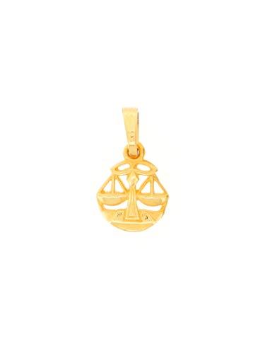 Gerry Eder 24.9020WA - Colgante de báscula de oro amarillo 585 de 14 quilates