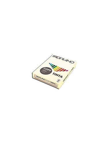 Carta in risma colorata Fabriano 500 fogli A4 80gr avorio