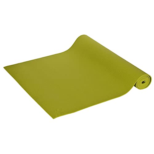 Yogamatte 2.Wahl PVC 183 x 60 x 0,40-0,45 cm Made in Germany, grün