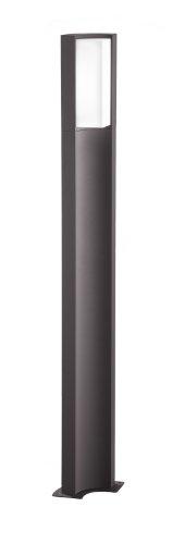 Trio Leuchten LED lampadaire extérieur, en fonte d'aluminium, 6W, hauteur 110 cm, anthracite 420360142