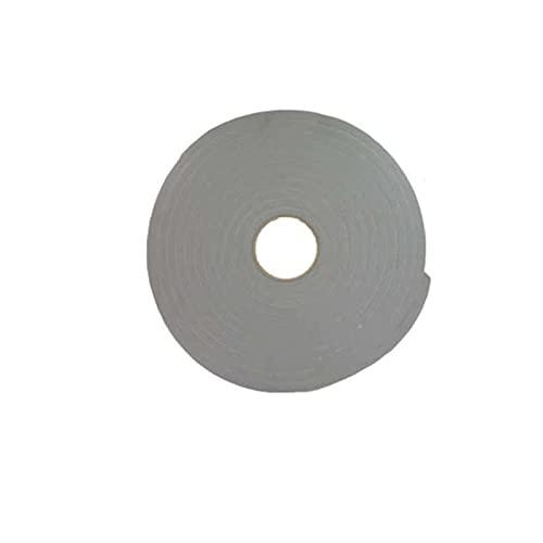 Ruban mousse simple face PVC gris Norton 3mm x 12mm x 30m