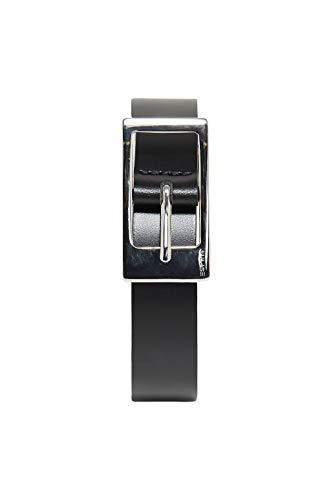 ESPRIT Damen Classic Gürtel, Schwarz (Black 001), 6641 (Herstellergröße: 90)