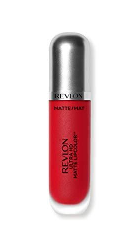 Revlon, matte ultra HD lipcolor, rossetto liquido effetto opaco con colore ad alta definizione (etichetta in lingua italiana non garantita)