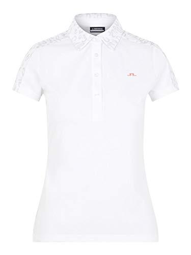 J LINDEBERG Cara Golf Polo U198 Animal Grey White - S