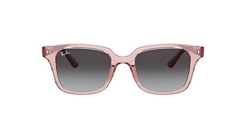 Ray-Ban 0RJ9071S Gafas, Transparent Pink, 48 Unisex