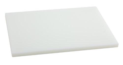 Metaltex - Tabla de cocina, Polietileno, Blanco, 38 x 28 x 1,5 cm