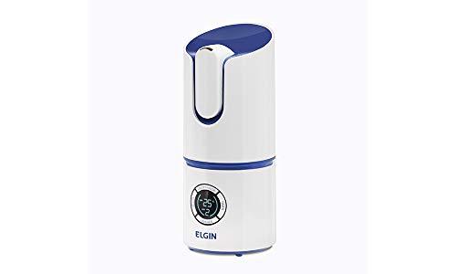 Umidificador Digital Inteligente, 2.5l, Bivolt, Branco e azul, Elgin