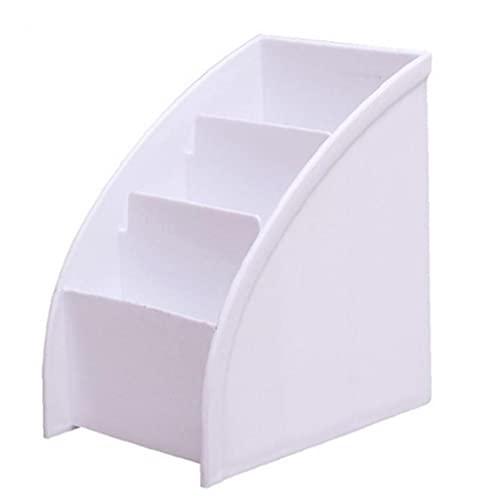 Fernbedienungshalter Tabletop-Speicher-Organizer CADDY Halter Container Trapezoid Makeup-Briefpapier-Stift-Box, Lagerhalter-Racks für Zuhause