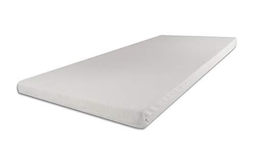 SW Bedding Topper Viscoelastische Matratzenauflage 140 x 200 x 9 cm H2 mit Bezug Medicare - 30 Tage Probeschlafen