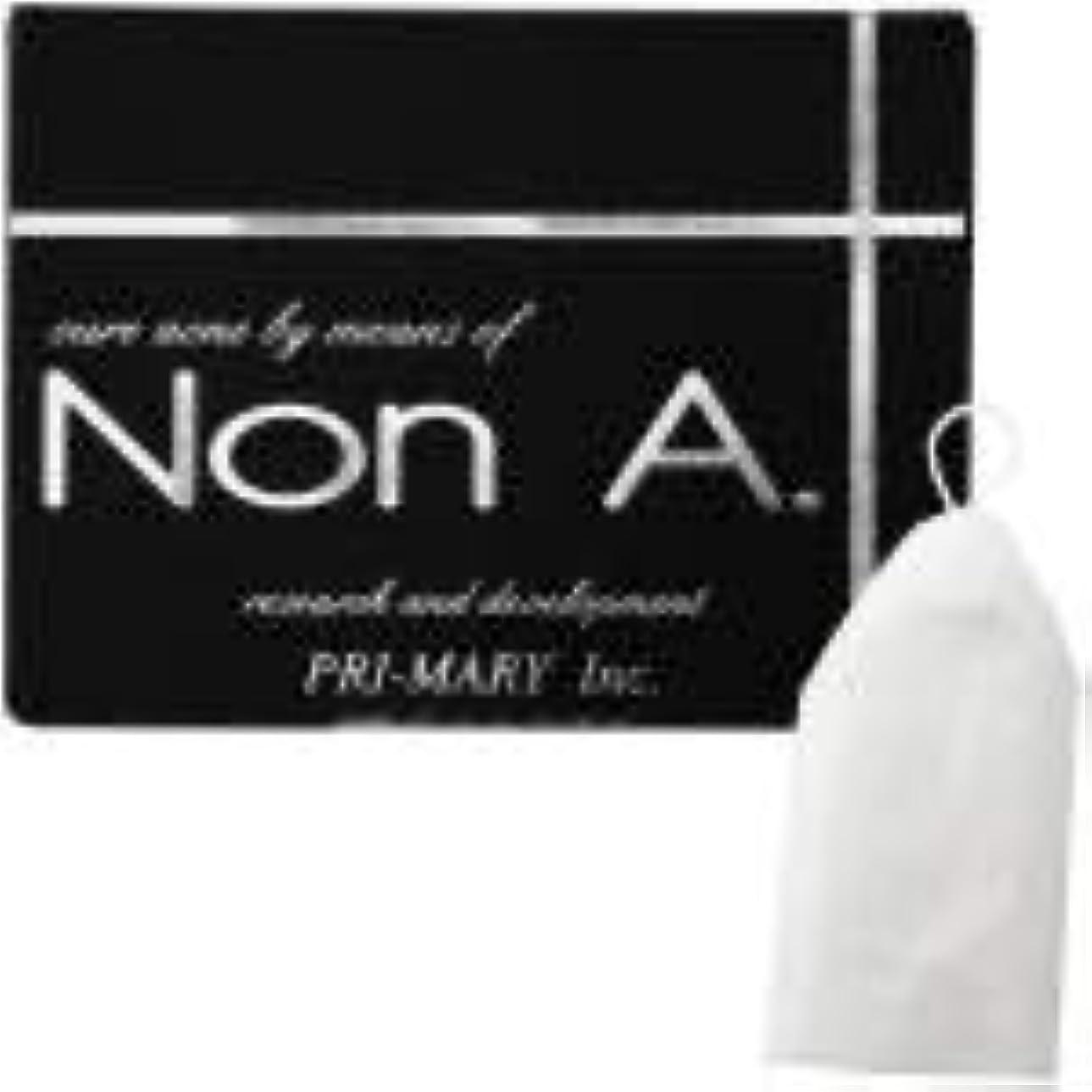 踏みつけパンサーペルメルNon A. (ノンエー) 石鹸 洗顔フォーム [ 洗顔泡立てネット付 / 100g / ニキビ対策 ] 洗顔料 洗顔せっけん 洗顔ソープ nona (プライマリー)