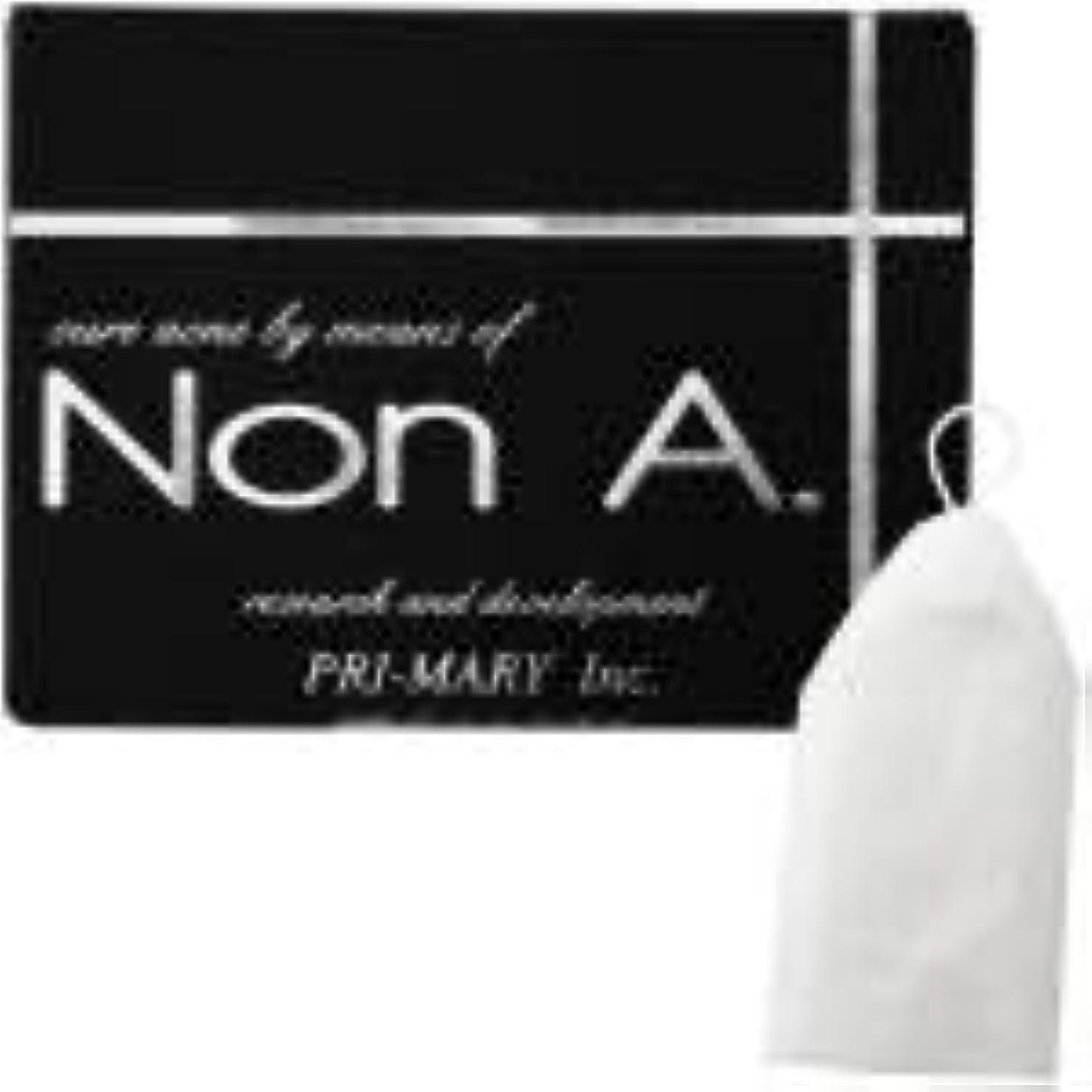 潤滑するコミュニティ州Non A. (ノンエー) 洗顔ソープ [ ニキビ対策 / 100g / 洗顔泡立てネット付 ] 洗顔せっけん ピーリング成分不使用 (プライマリー)