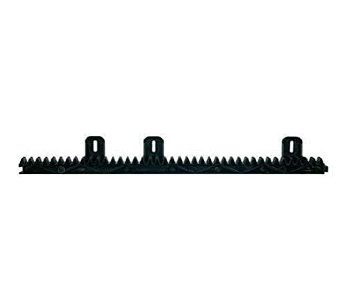 Extel - Crémaillère - WEATCE 2 - Droite, Mesure 50 cm, Constituée de nylon renforcé, Inaltérable, Compatible avec toutes les motorisations Extel, Très résistante - Extel
