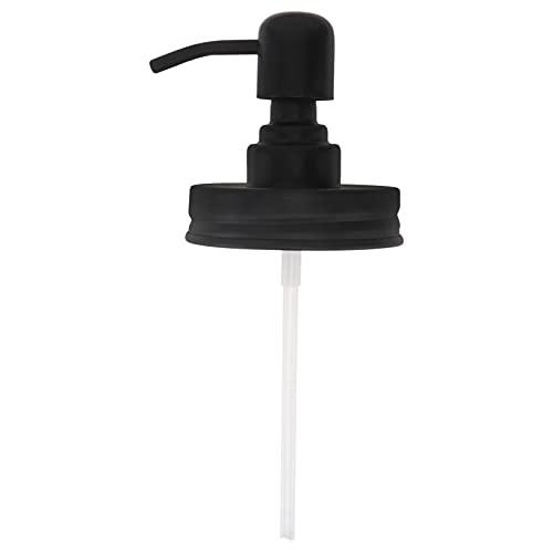 DOITOOL Bomba de Loción Dispensadores de Botellas de Jabón de Plástico Bomba Dispensadora de Champú Repuestos Superiores para Acondicionador de Loción Botella de Aceite de Gel 70 Mm