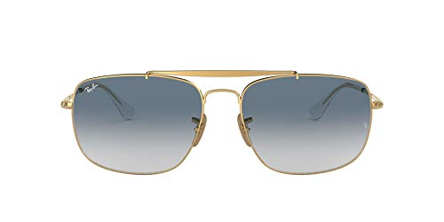 Ray-Ban Herren 0RB3560 001/3F 58 Brillengestelle, Gold (Gold/Clear Gradient Blue)