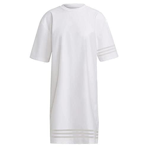 adidas Adicolor 3D Trefoil camiseta vestido blanco 40