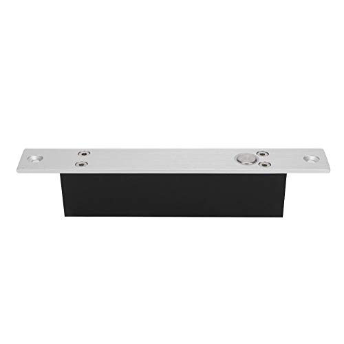 Ichiias DC12V 5 Lines Firm Antirust Elektrisches Riegel-Türschloss, Türöffnung aus Aluminiumlegierung, elektrisches Riegelschloss für intelligente Sicherheitskontrolle