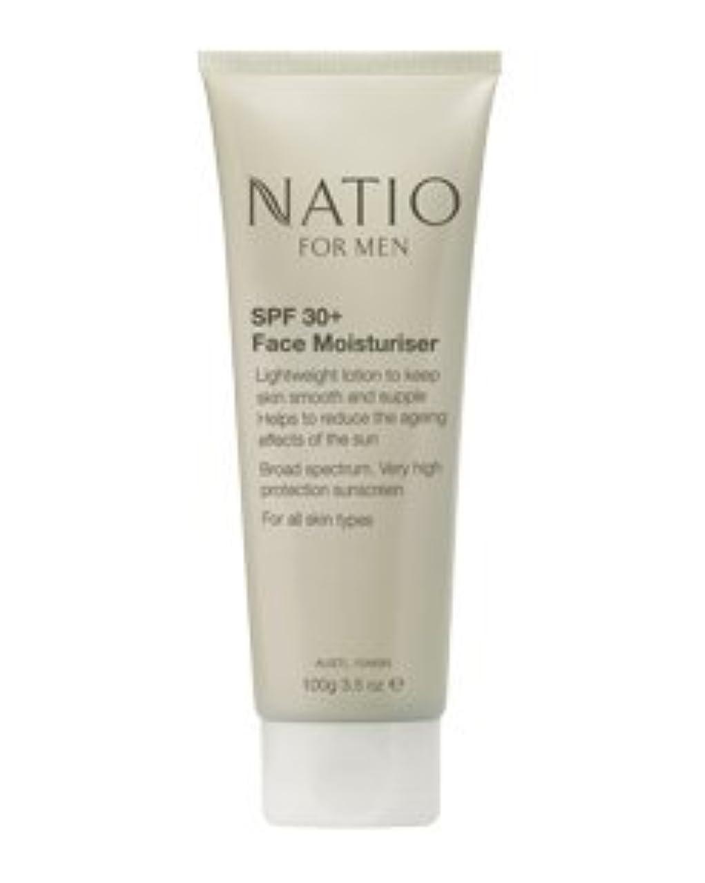 アトミック第二に森林【NATIO FOR MEN SPF 30+ Face Moisturiser】 ナティオ  SPF 30+ フェイス モイスチャライザー [海外直送品]