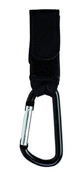 SARO – Attache Mousqueton pour chaise Pack 2 bebé-niños - Noir - Taille Unique