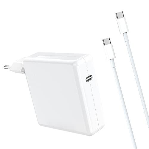 61W USB C Caricatore per Mac Book Pro/Air, USB C Alimentatore Compatible Mac Book 2016 2017 2018 2019 2020 13/15 pouces, iPad Pro