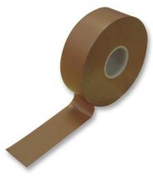 Metre's 20 Ruban adhésif isolant électrique en PVC isolant Marron câble de 19 mm de large