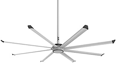 Big Ass Fans Essence 10-foot 8-Blade Residential/Commercial Variable Speed Ceiling Fan, Wall Mounted Dial Control, Standard Mount, for Indoor or Outdoor Use