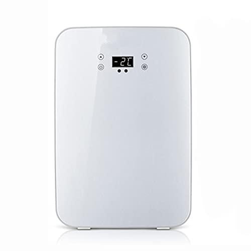 Mini refrigerador para automóvil enfriador y calentador de 13 litros de capacidad | compacto, portátil, silencioso | compatibilidad de alimentación CA + CC Dual-core CNC