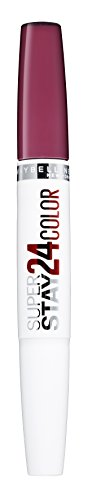 Maybelline Superstay 24H Lippenstift Nr. 450 Fire Garnet, farbintensiver, flüssiger Lippenstift mit...