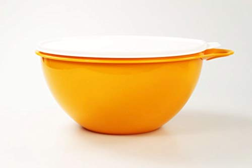 Tupperware Maximilian Rührschüssel 4,5L orange Maxima Jumboschüssel Salatbar 36765