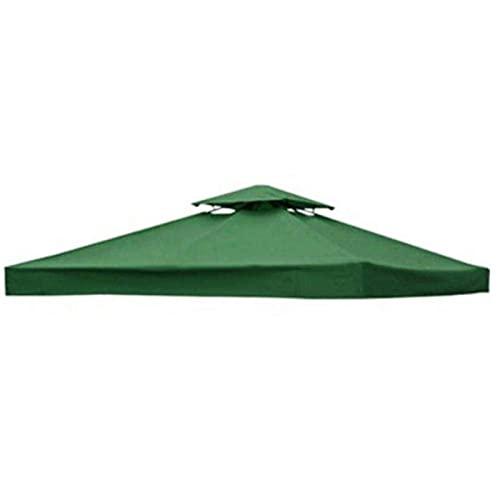 3 x 3 (m) Gazebo Canopy techo tapa cubierta de reemplazo impermeable Patio Canopy Tienda Top Top-A
