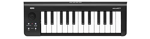 KORG 定番 USB MIDIキーボード microKEY-25 音楽制作 DTM 省スペースで自宅制作に最適 すぐに始められるソフトウェアライセンス込み 25鍵