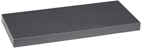 Modul'Home 6RAN791BC - Estantería para colgar (tablero DM, 50 x 22,8 x 3,4 cm), tablero/madera DM, gris oscuro, 50 x 22,8 x 3,4 cm