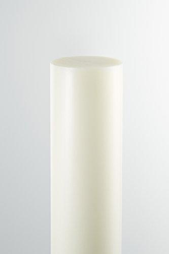 A+H Vollstab aus PE-500 - Rundstab erhältlich in verschiedenen Abmessungen - Länge 50cm - Durchmesser 60mm, Natur