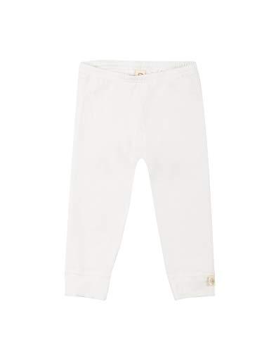 Dilling Baby Leggings aus Bio-Baumwolle Weiß 92