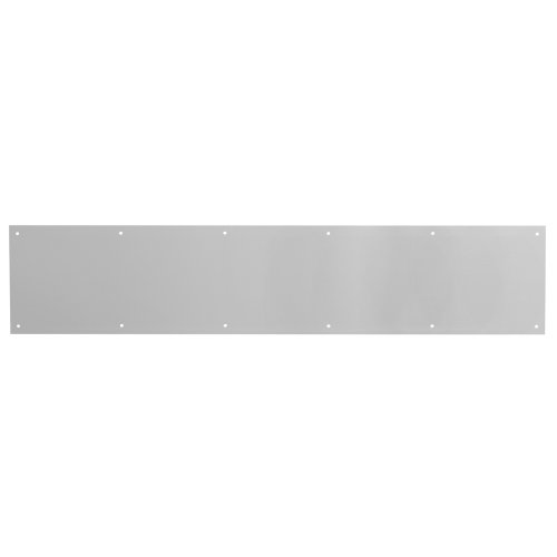 Prime-Line MP4754 Kick Plate, 6 x 36-Inches, Satin Aluminum