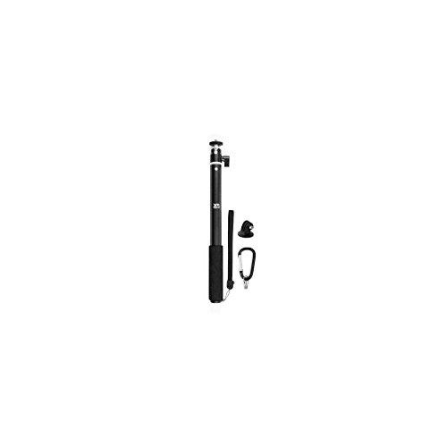Xsories USHM4B Big U-Shot - Palo Selfie telescópica Ajustable monopod Extensible con fijación para GoPro, Negro