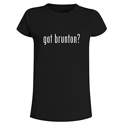 got brunton? - Camiseta para mujer, Negro, XXXL