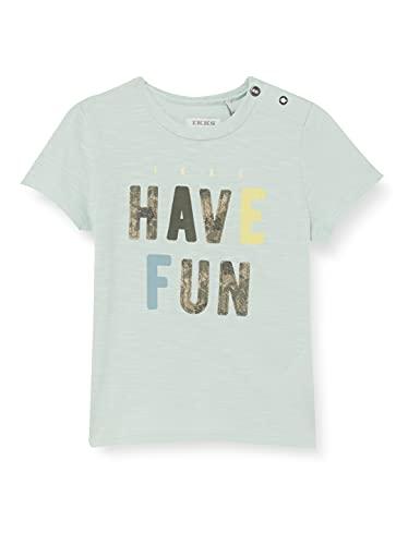 IKKS tee-Shirt Blue Lagon Description Have Fun Camiseta, Verde, 3 Mes para...