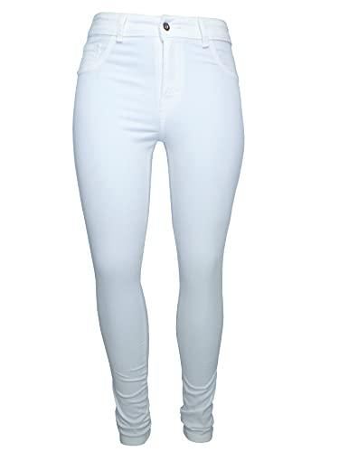 Pantalones Blancos  marca MENTA
