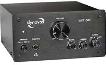 Dynavox MT-50 - Miniamplificador (50 W), color negro ...
