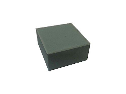Zische Reinigungsstein, Siliciumcarbid, 50 x 50 x 25 mm, Körnung FEPA 320 (JIS 600), Abrichtsein, Aufraustein
