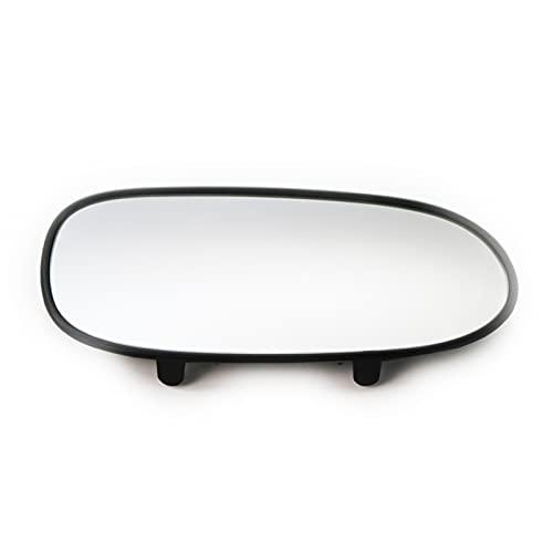 Funien Espejo de Cristal, Cristal de Espejo retrovisor Exterior Izquierdo/Derecho de Repuesto para Chevrolet Corvette 05-13