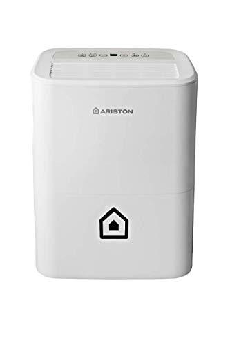 Ariston Deos 16s Wi Fi Deumidificatore Portatile, 430W, 16 Litri/Giorno, Bianco