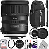 Tamron SP 24-70mm f/2.8 Di VC USD G2 Lens for Canon EF + Tamron Tap-in Console with Altura Photo Advanced Accessory and Travel Bundle
