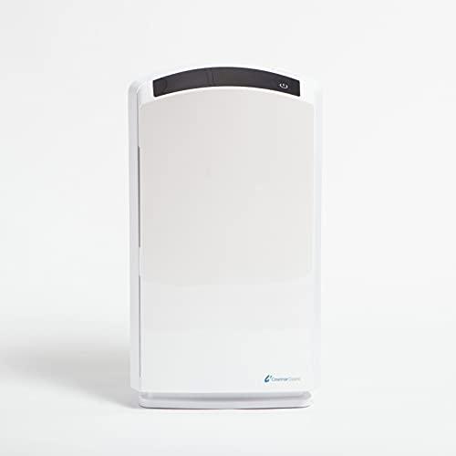 Purificador de aire de alergias andrómeda, filtro HEPA H13, sensor de partículas